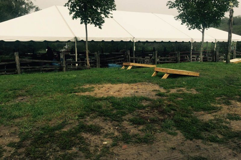 Corral Space Tented