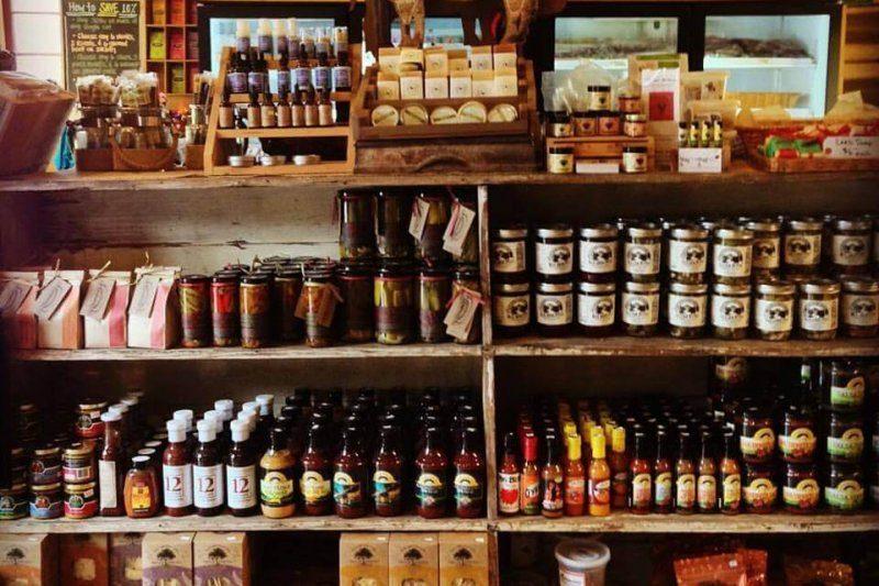 Farm Store Shelf